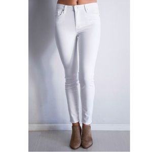 New Just Black Nysa White skinny jeans 27
